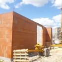 Les murs sont presque terminés
